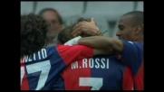 Marco Rossi segna un goal con un gran tiro d'esterno contro la Reggina