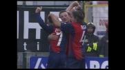 Il goal di Esposito vale il 2-0 del Cagliari sull'Empoli