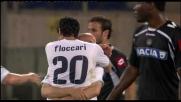 Goal di precisione di Sergio Floccari: Udinese nuovamente superata