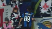 Sinistro a fil di palo di Marilungo per il goal vittoria dell'Atalanta sul Genoa