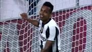 Erroraccio di Alex Sandro, sbaglia un goal già fatto in Juventus-Udinese