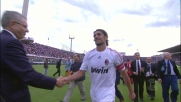 Maldini saluta il calcio giocato sul campo del Franchi di Firenze