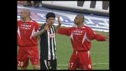 Udinese vicina al goal con Pizarro: decisivo l'intervento di Gianluca Pagliuca