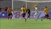 Basta sbuca dal nulla e segna il primo goal dell'incontro Lecce-Udinese