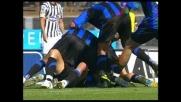 Ventola segna a porta vuota il goal del 2-0 dell'Atalanta contro l'Ascoli