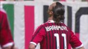 Ibrahimovic tira fuori e spreca una facile occasione al Meazza