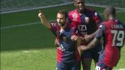 Fetfatzidis batte Skorupski e realizza il goal vittoria per il Genoa