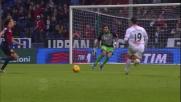 Uscita decisiva con i piedi di Perin su Pasciuti lanciato in goal