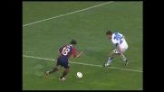 Raggi neutralizza l'attacco del Cagliari anticipando il passaggio di Pepe
