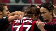 Borriello rischia, ma trasforma il rigore che porta in vantaggio il Milan sulla Lazio