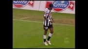 Asamoah firma il tris dell'Udinese contro la Sampdoria