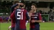 Pinilla non sbaglia dal dischetto: è un goal da 3 punti per il Cagliari contro la Fiorentina
