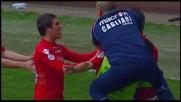 Il colpo di testa di Nené regala il pareggio al Cagliari