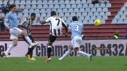 Badu segna il goal del 2-1 alla Lazio con un esterno magico