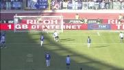 Klose salta Peluso e realizza il goal del raddoppio della Lazio