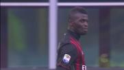 Gran colpo di testa e palo di Niang contro il Pescara
