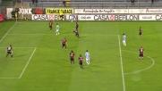 Hamsik crossa con il tacco in Cagliari-Napoli