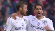Il goal di Kurtic permette all'Atalanta di espugnare Genova: termina 1-2 a Marassi contro i rossoblu