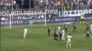 Sportiello manda in corner un siluro di Balotelli su punizione