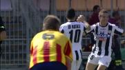 Il raddoppio dell'Udinese contro il Lecce porta la firma di Di Natale