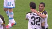 Bruno Fernandes in goal: l'Udinese agguanta il pareggio contro il Napoli
