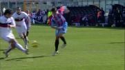 Bergessio regala il goal vittoria al Catania contro il Genoa