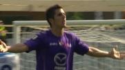 A Firenze Jovetic porta in vantaggio la Fiorentina contro il Catania