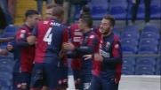 A Marassi Bertolacci segna la rete del 4-2 contro il Verona