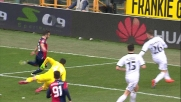 A Marassi Fetfatzidis anticipa Consigli e si guadagna un goal a porta vuota
