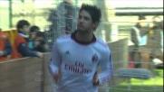 A Marassi il Milan passa in vantaggio sul Genoa grazie ad un goal di Pato