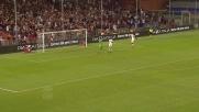 A Marassi Immobile prova il gran goal in diagonale ma scheggia il palo