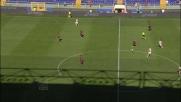 A Marassi Marcolini firma il sorpasso del Chievo con un gran goal di testa