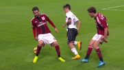 A San Siro Dybala evita con un tunnel la marcatura del Milan