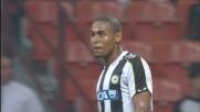 A San Siro Gabriel Silva prova senza successo il sinistro dalla grande distanza
