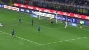 A San Siro l'Udinese sfiora il goal con la conclusione di Widmer