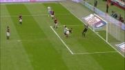 A San Siro Ricchiuti segna il goal del doppio vantaggio del Catania sul Milan