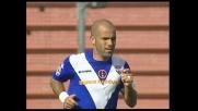 A Udine Brescia vicino al goal: De Sanctis respinge d'istinto sul colpo di testa ravvicinato di Di Biagio