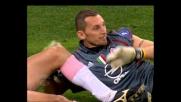 Abbiati frana su Zauli e regala un penalty al Palermo