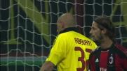 Abbiati rimedia all'errore di Antonini e salva il Milan da Schelotto