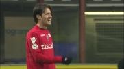 Acquafresca illude il Cagliari a San Siro con il goal dell'1-0 contro l'Inter