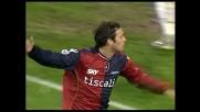 Acquafresca segna il goal vittoria del Cagliari sul Siena