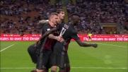 A San Siro il goal di Niang chiude la pratica Lazio