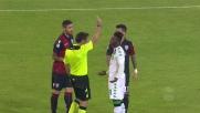 Adjapong rimedia un giallo a Cagliari
