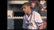 Adriano, che brutto rigore contro il Livorno