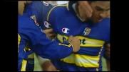 Adriano firma il pareggio del Parma a Udine