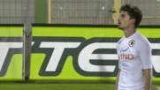 Agazzi in uscita ferma la corsa di Borini verso il goal