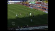 Agliardi si oppone a Pandev con un pizzico di fortuna e salva il Palermo all'Olimpico