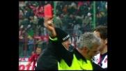 Agostini protesta troppo: espulso