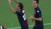 Il goal di Thiago Ribeiro sblocca il match fra Cagliari e Novara