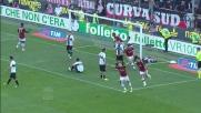 Goal di rapina di Silvestre sugli sviluppi di un corner al Tardini
